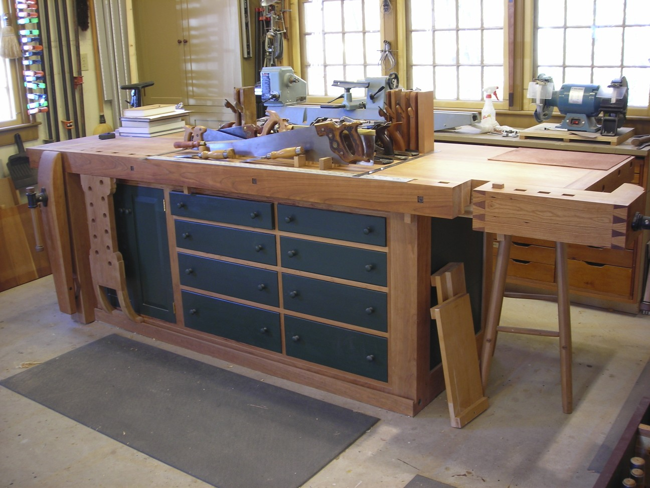 Wonderful By Glen D Huey Pages From The December 2007 Issue Buy This Issue Now When I Started Work At Popular Woodworking Magazine My Workbench Was A Couple Storage Cabinet Shaker Workbench  Popular