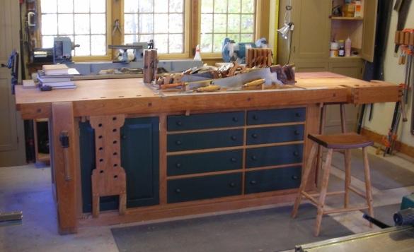 shaker bench design