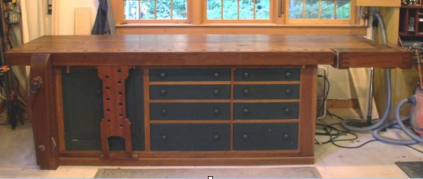 Enjoyable Wood Workbench Plans Free Download Machost Co Dining Chair Design Ideas Machostcouk